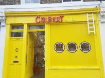 Ever spotted the yellow submarine on Columbia Road? Its studiocolberthellip