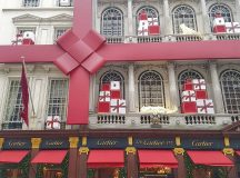 cartier has Christmas all wrapped up on New Bond Streethellip