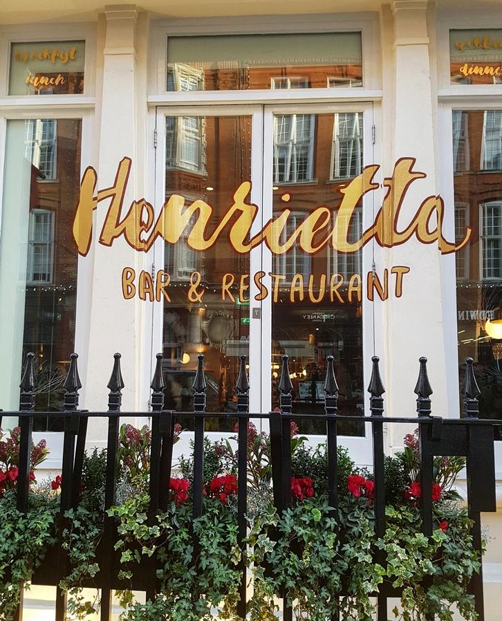 Lunch At Henrietta Hotel Covent Garden Cheriecity Co Uk